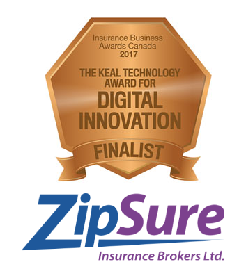 ZipSure digital innovation award finalist